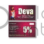 Недорогие визитки для магазина одежды